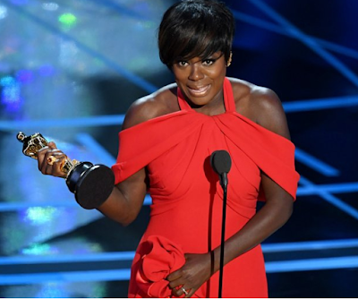 Viola Davis Makes History With Her First Oscar Win