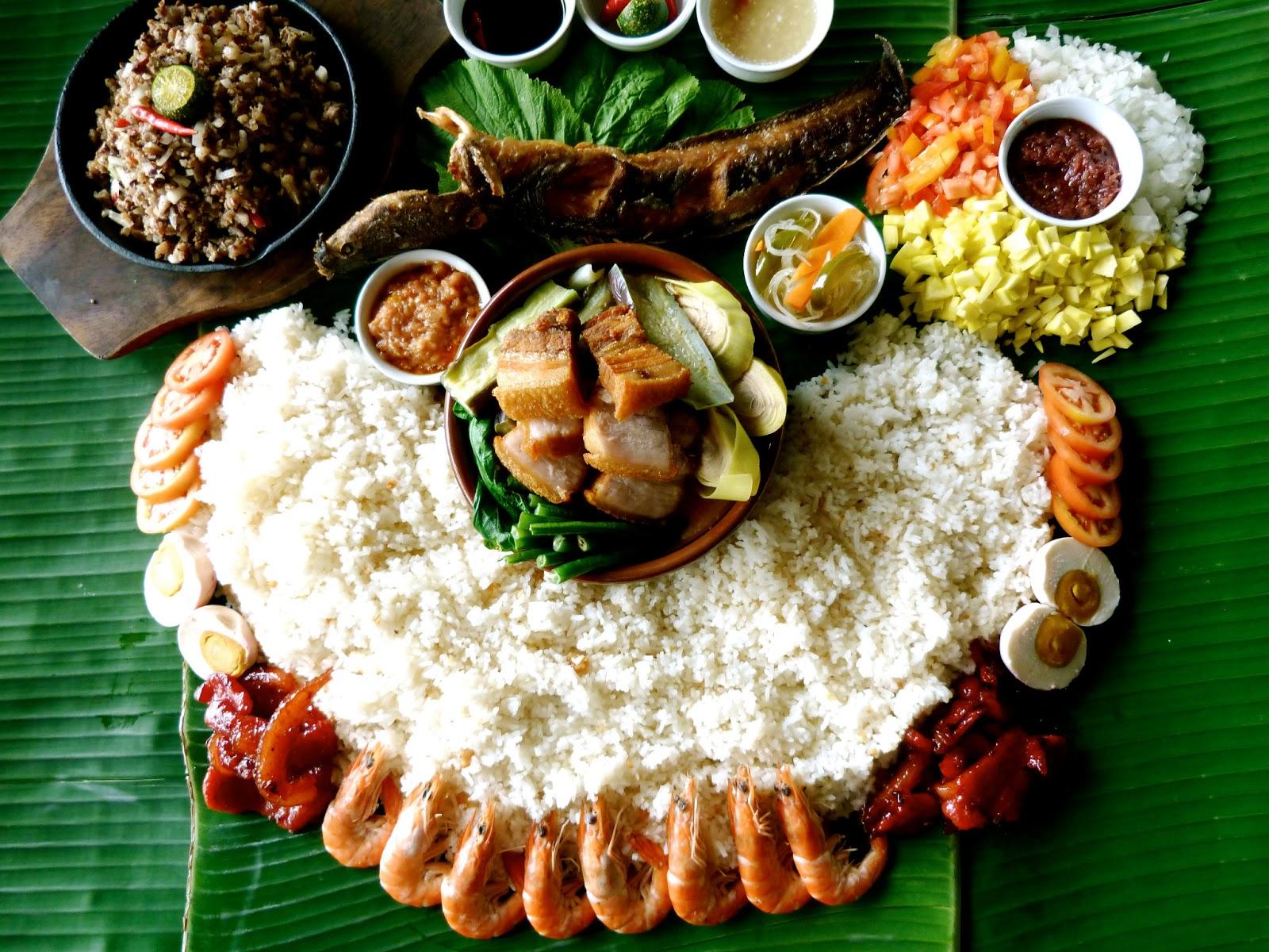Island Foods Menu
