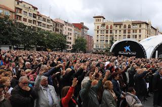 concentración jubilados y pensionistas por las pensiones