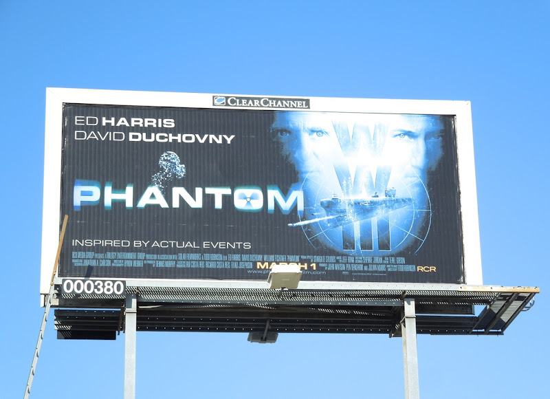 Phantom movie billboard 2013