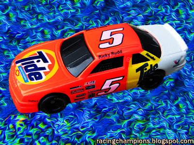 Ricky Rudd #5 Tide Racing Champions 1/64 NASCAR diecast blog age Rick Hendrick Darrell Waltrip