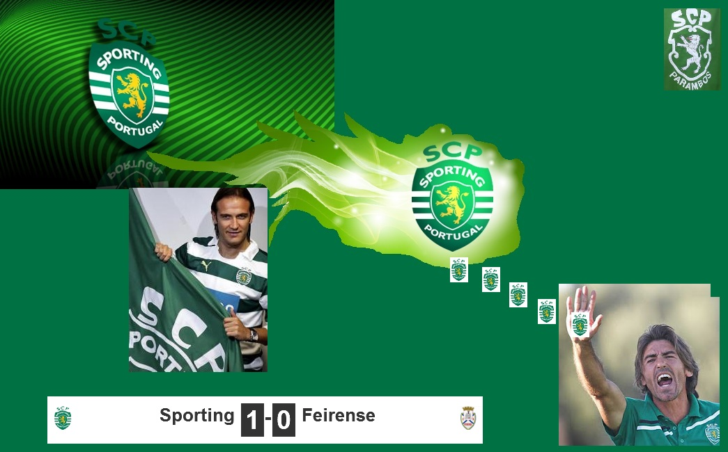 Sporting Feirense: Viver Parambos: Últimas De Alvalade XXI, SCP Vence O Feirense