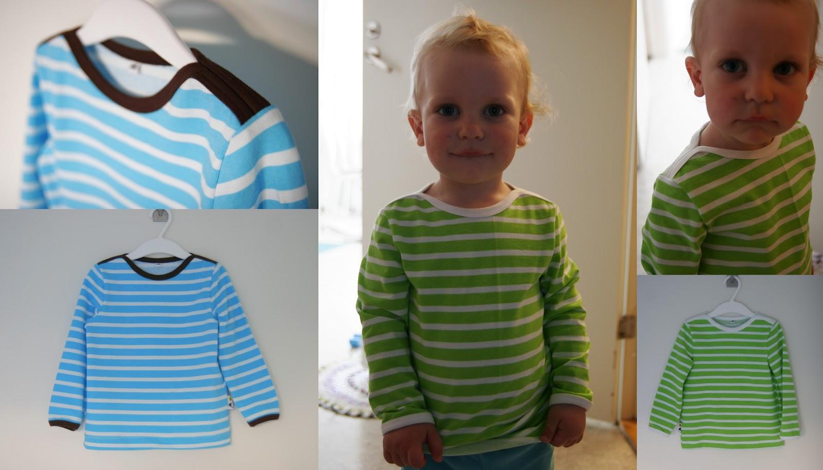 Innan jag sydde sonens tröjor passade jag på att rita ett nytt lite vidare  tröjmönster. Sonen behöver egentligen inga nya kläder b7a62e50af829