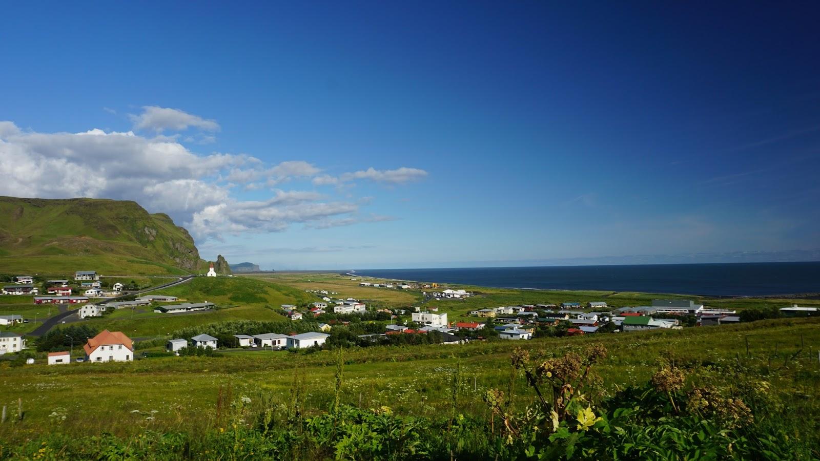 miasteczko Vik, Vik i Myrdal, południowa Islandia, atrakcje Islandii