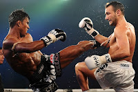 buakaw was kicking