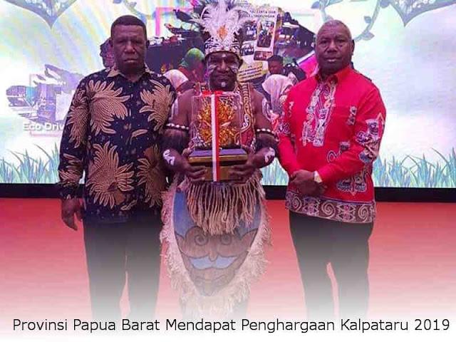 Provinsi Papua Barat Mendapat Penghargaan Kalpataru 2019