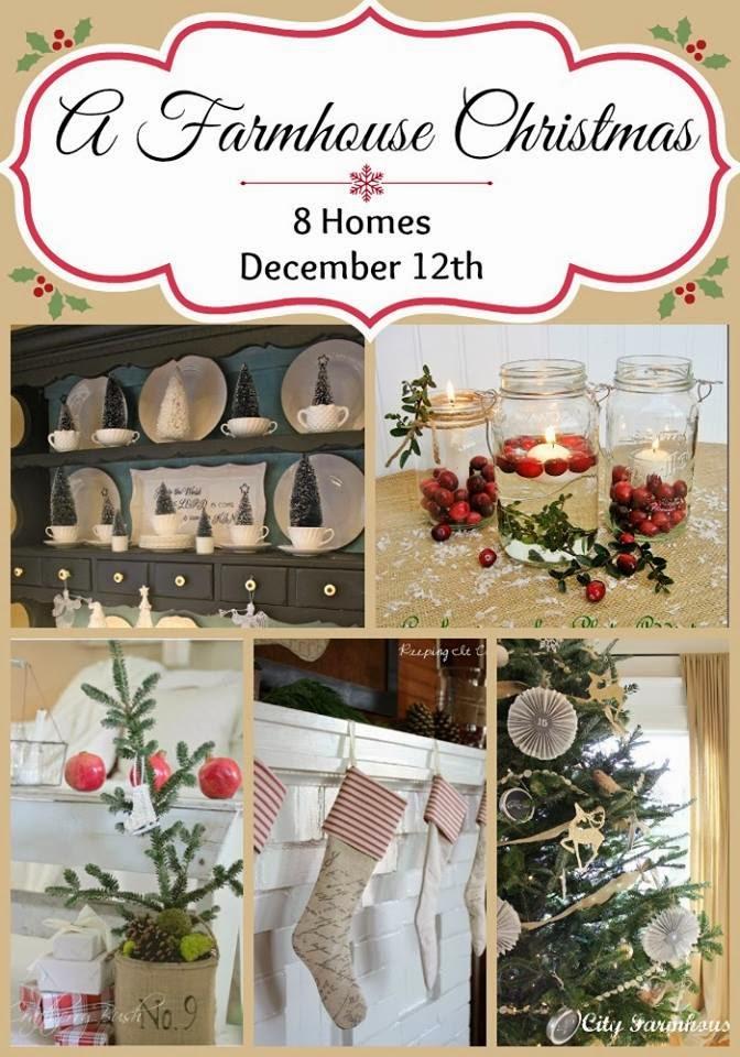 A farmhouse christmas tour