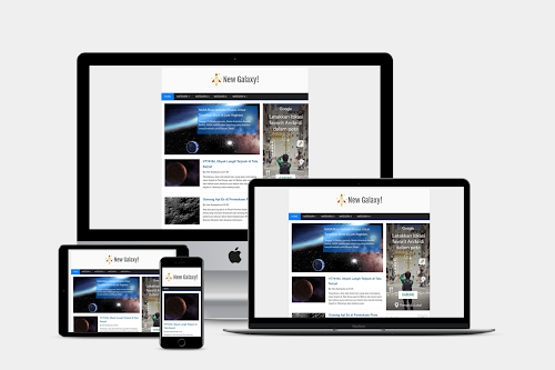 New Galaxy Blogger Template