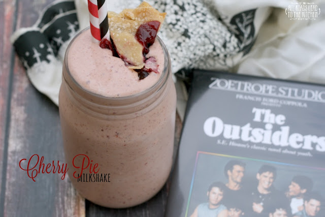 Cherry Pie Milkshake inspired by The Outsiders