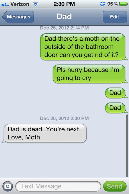 Funny Dad SMS/Text
