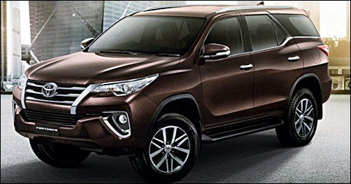 2017 Toyota Fortuner Price and Review