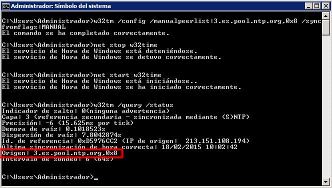 Origen: 3.es.pool.ntp.org,0x8