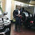 Peter Okoye's car garage is every man's dream...