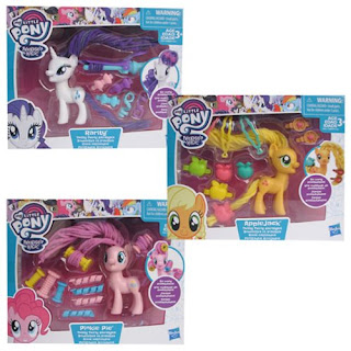 First Images of Twisty Twirly Hair Ponies + Pre-Orders