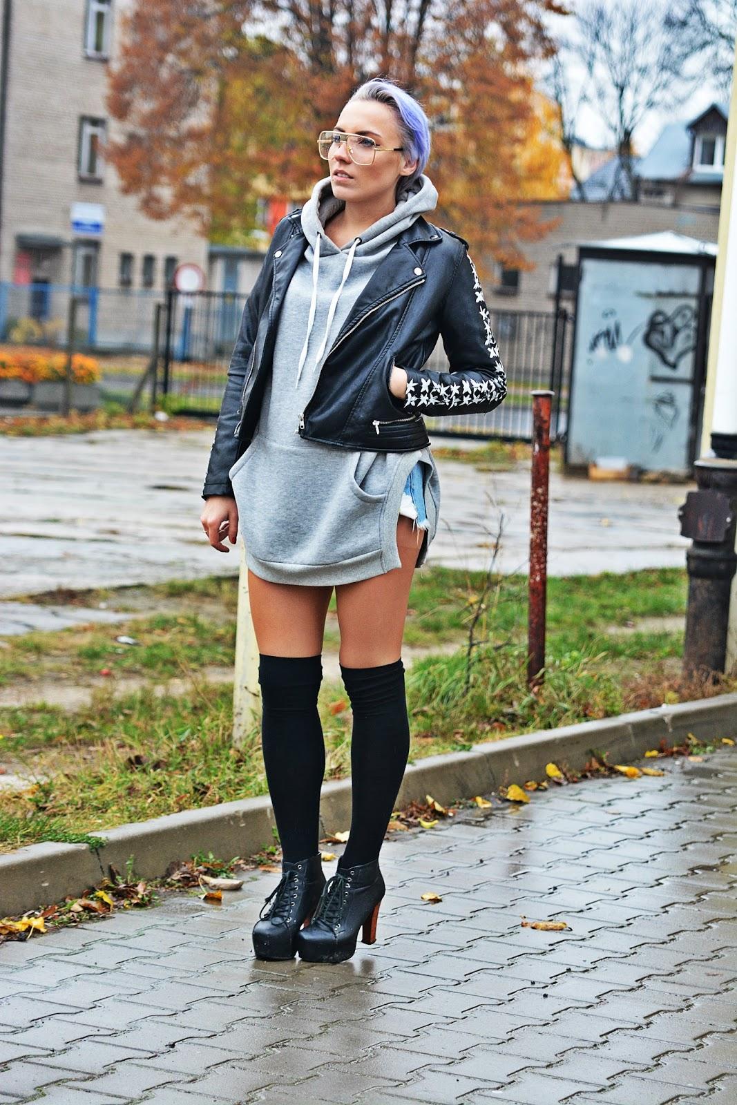 long_gray_blouse_szara_bluza_zakolanowki_karyn