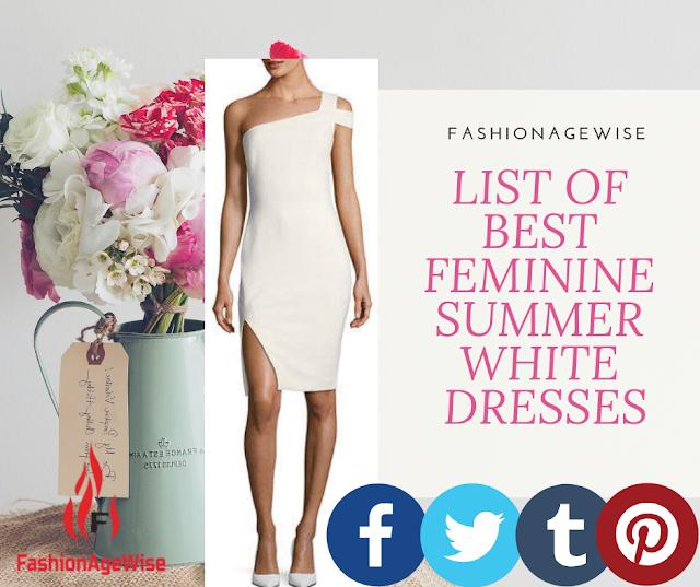 image result LIST OF BEST FEMININE SUMMER WHITE DRESSES