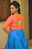 Nithya Shetty in Orange Choli at Kalamandir Foundation 7th anniversary Celebrations ~  Actress Galleries 055.JPG