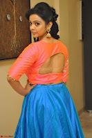 Nithya Shetty in Orange Choli at Kalamandir Foundation 7th anniversary Celebrations ~  Actress Galleries 055.JPG