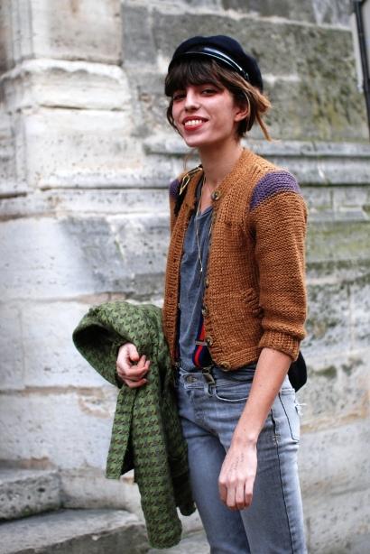 Lou Doillon Street: MY FASHION TRICKS: Street Style:Lou Doillon