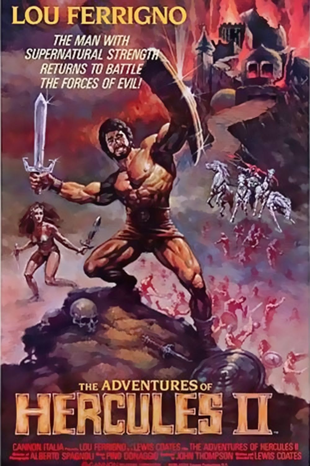 Laser Blazer Cinema: The Adventures of Hercules 1985
