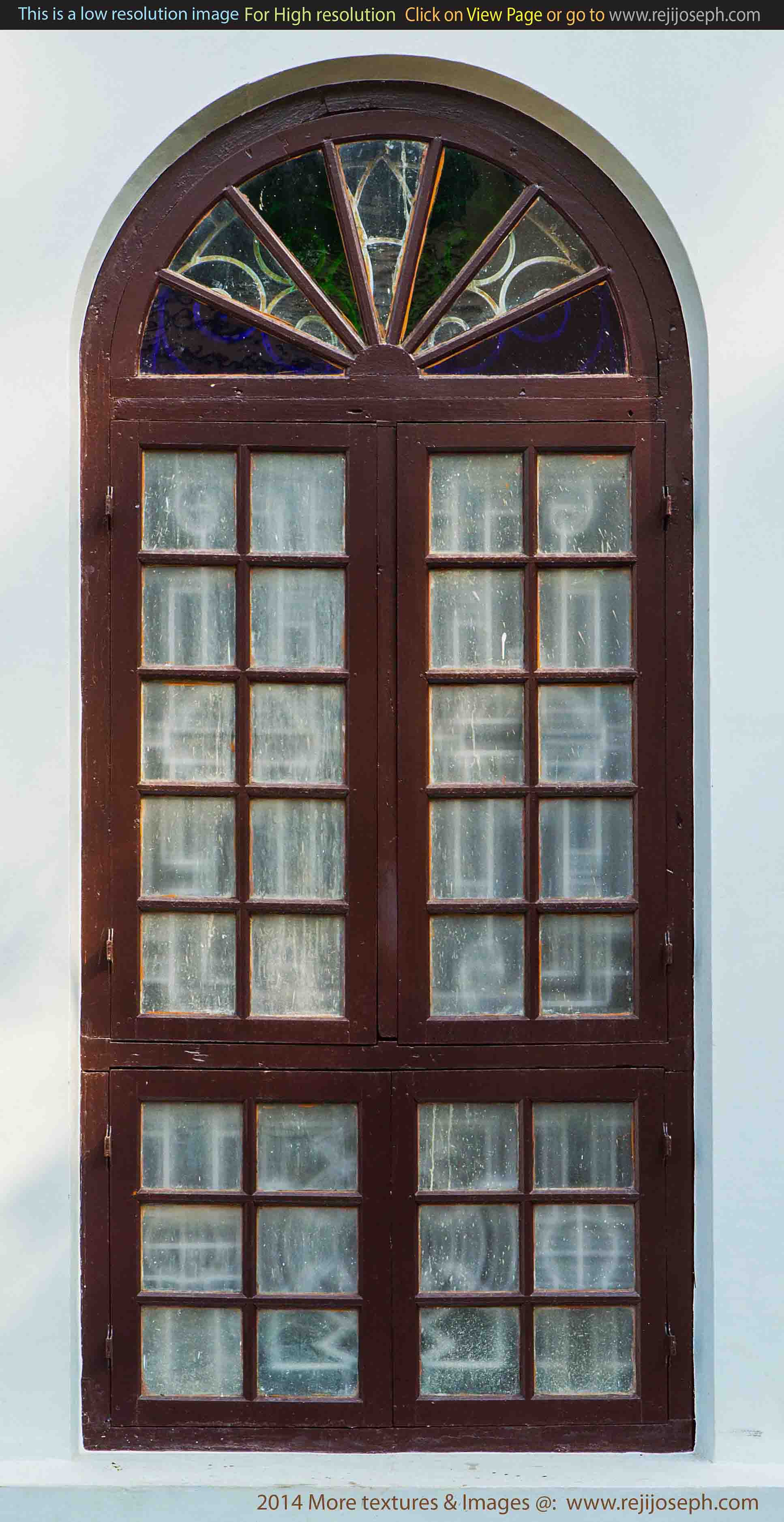 Arch Window texture 00003