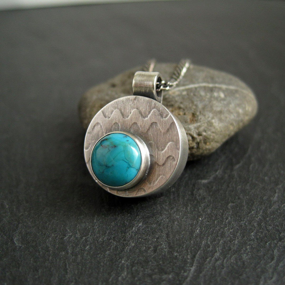 Making a hollow form pendant with turquoise cabochon mozeypictures Images