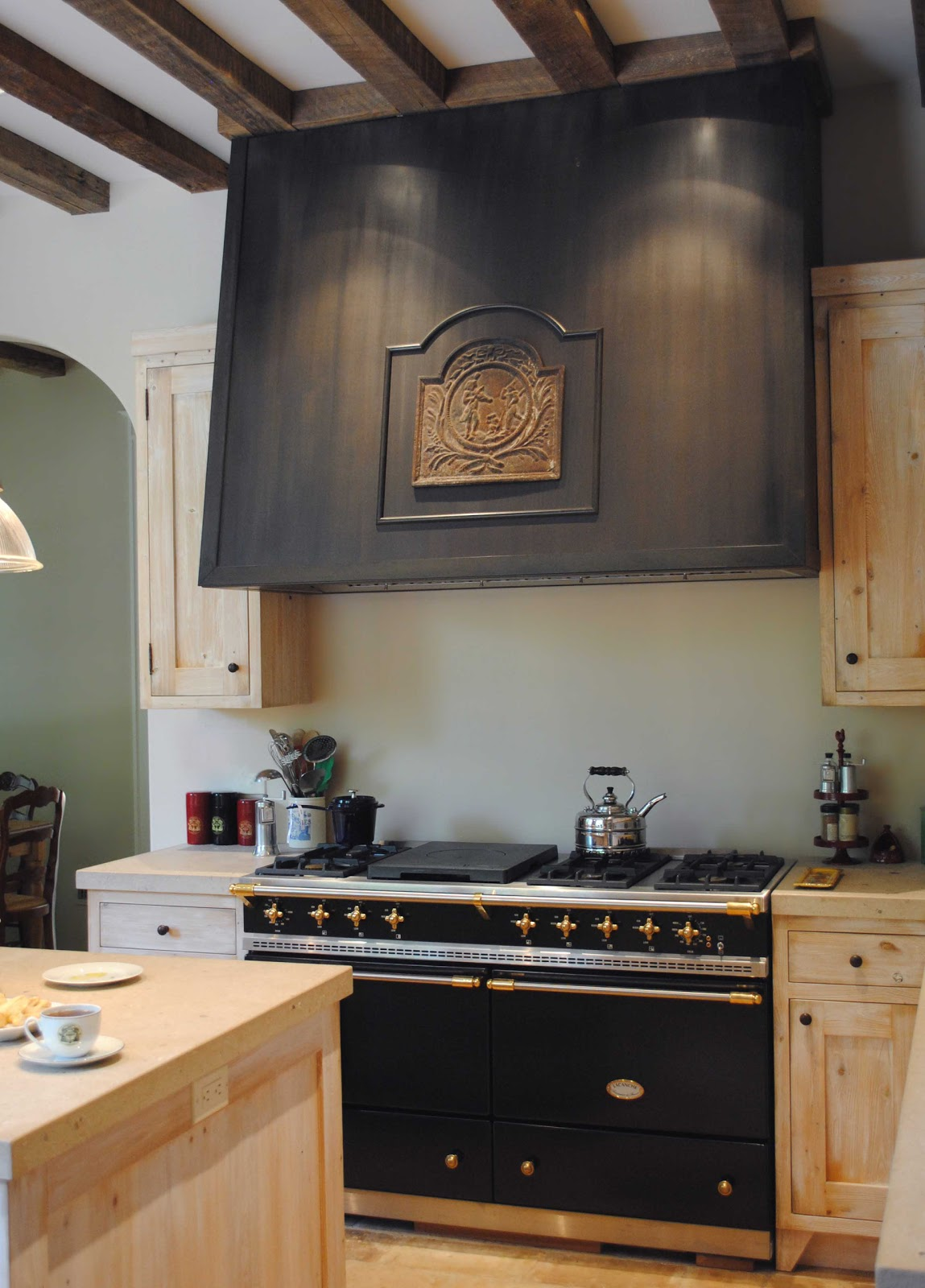 Tone on Tone: Old and New in Fixing Stove Hoods To Keep Pollution Out Of The Kitchen : The Salt Renovation - Kitchen Stove Vents