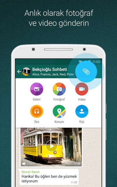 WhatsApp Messenger 2.17.401 apk indir
