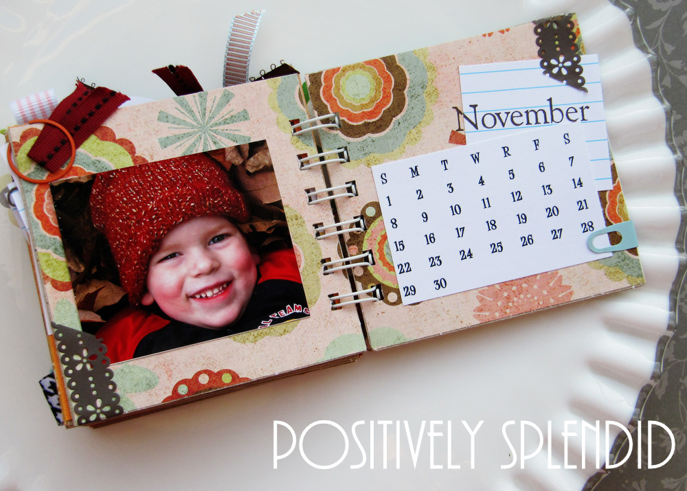 Memory Book Desk Calendar Swell Noel 14 Positively Splendid
