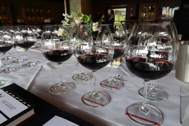 The 6 WALT Wines pinots we tasted from our 1,000 Miles of Pinot Root 101 experience.