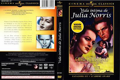 Carátula de La vida íntima de Julia Norris.