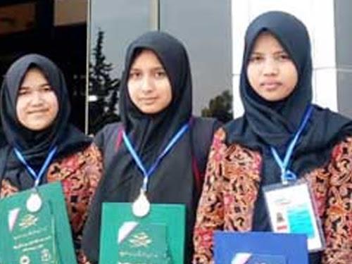 Tiga Pelajar Asal Bandung Raih Medali di Olimpiade Sains dan Matematika Global