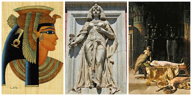 Queen Cleopatra of Egypt Greek through and through