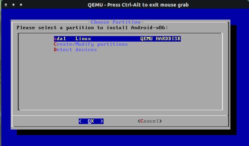 How To Install Android-x86 4 0 Using QEMU On Ubuntu 11 10/12 04