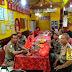 Polsek Tambora Binmas Polsek Tambora Pengamanan Ibadah di Vihara Sasana Dipa .