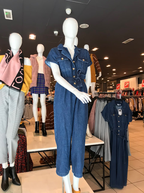 Diary of a Chain Stitcher: McCalls 7330 Jumpsuit in Indigo Denim from Fabric Godmother