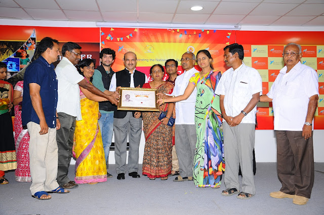Harish Award for highest eye collection - DOddaballapur Eye Collection Centre