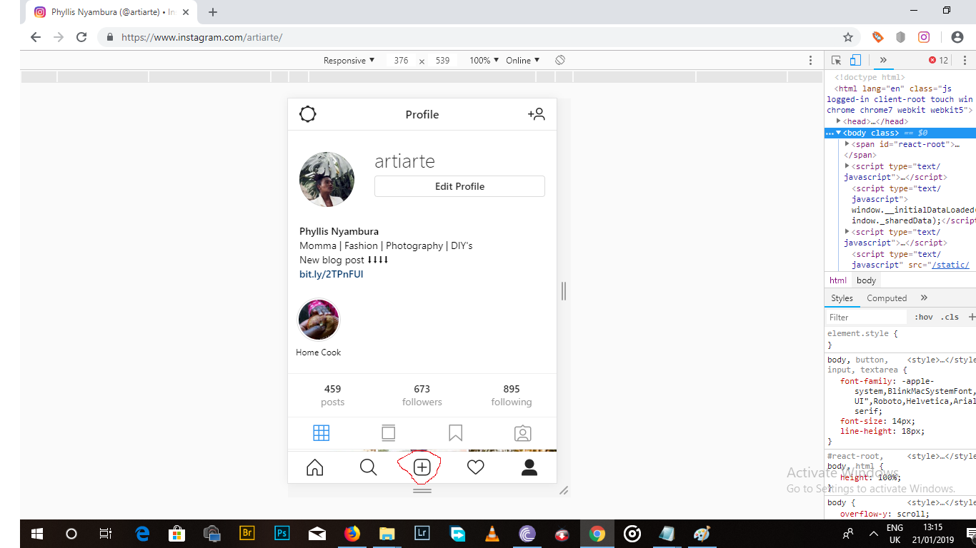 3 ways to upload photos to Instagram without a mobile device using Chrome