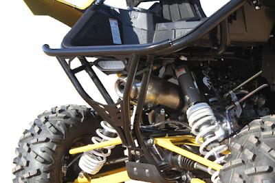 RacePace Rear Bumper For Yamaha YXZ1000R