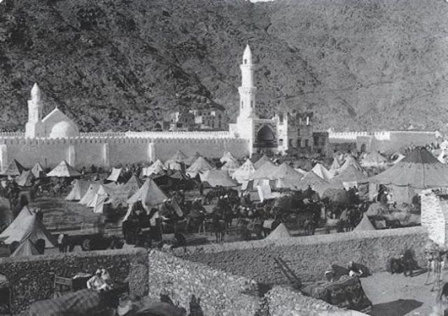 مسجد الخيف بمنى موسم حج 1907م