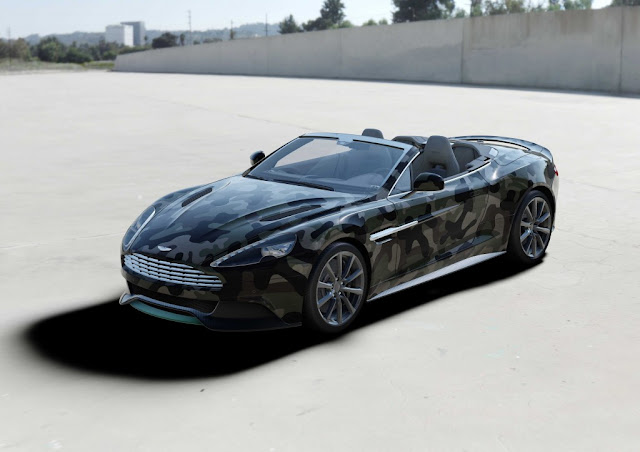 VALENTINO X ASTON MARTIN VANQUISH AUKTION VON CASH AND ROCKET