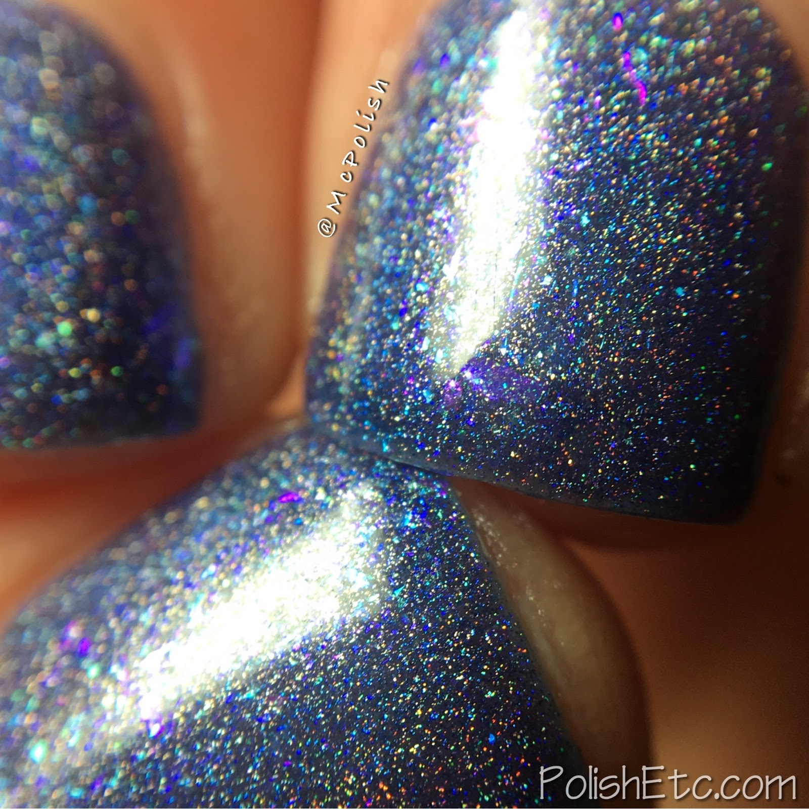 Ellagee - Hella Holo Customs - McPolish - Nightspark