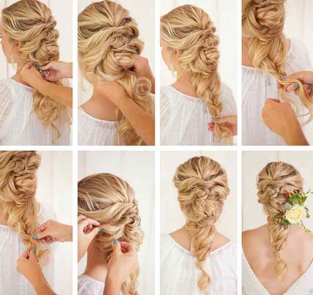 French Braid Hairstyles For Weddings Picture 2