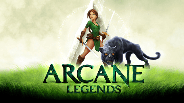 arcane legends adalah game online mmo (massively multiplayer online)