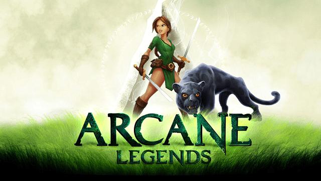 arcane legends adalah game online mmo (massively multiplayer online)