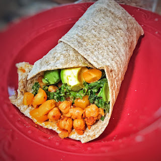 Spicy buffalo Chickpea Wrap Recipe, Vegan wrap, vegan lunch, vegetarian lunch, recipes, lgbt, lgbtq,