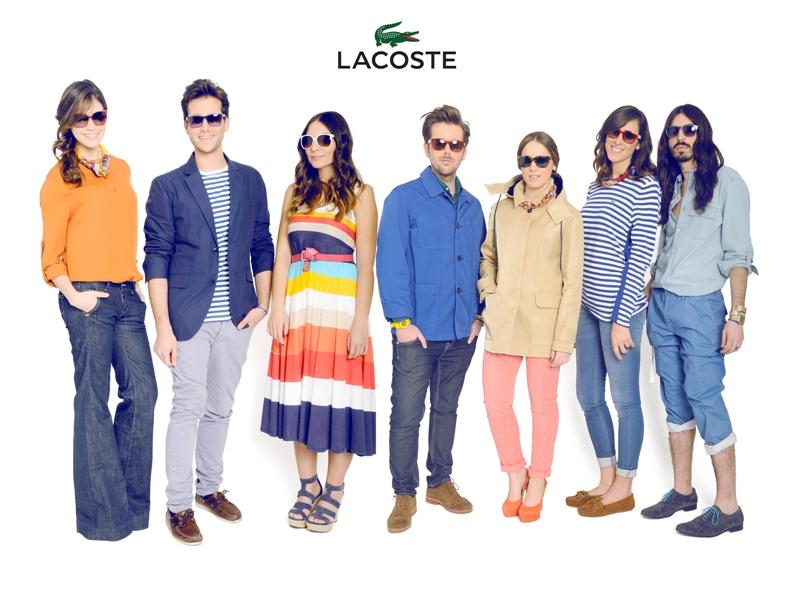 Shooting Lacoste Eyewear