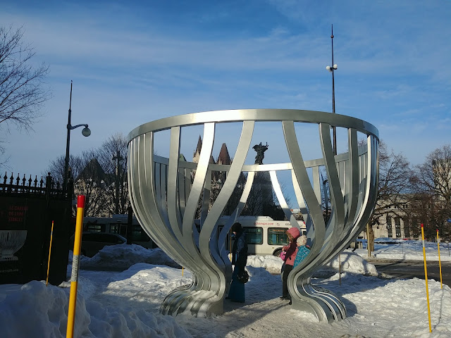 stanley cup arts sculpture at Spark Street