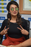 Tejaswini Madivada backstage pics at 92.7 Big FM Studio Exclusive  35.JPG