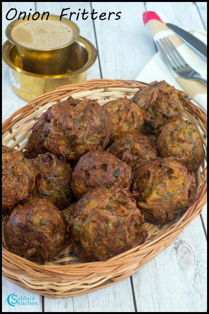 Ulli Vadai | Onion Vada | Onion Dumplings | Onion Fritters